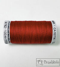 Gutermann Extra Strong Thread Colour 46 Dark Red 100m Spool