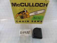 New McCulloch Air Filter Cover 215988 Oem Mh14