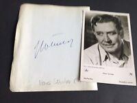 HANS SÖHNKER †1981 signed Albumausschnitt 14x16