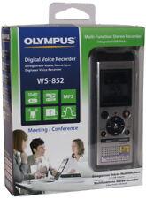 Olympus digitales Diktiergerät WS-852 4GB MP3 silber