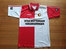 Feyenoord 94 L football shirt jersey vintage trikolt maglia Koeman Adidas