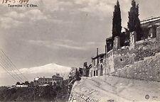 C000791      MESSINA  TAORMINA  L'ETNA  VIAGGIATA   1909