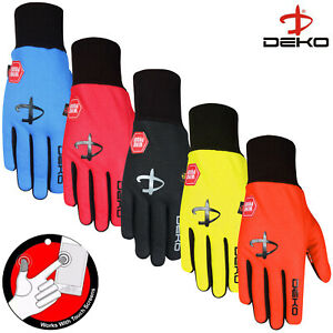 Full Finger Cycling Gloves Windproof Touchscreen Off Road Bike Gloves Sports Men