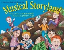DAVID BOWIE - MUSICAL STORYLAND Illustrated Lyric Book and CD! LIKE NEW!