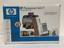 HP Photosmart A617 Digital Photo Inkjet Printer 5x7 photos Brand NEW Sealed
