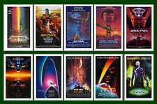STAR TREK  - FILM  POSTER POSTCARD SET # 1