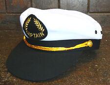 El Capitán Cap/Hat - 100% algodón-Canotaje/Vestido de fantasía Etc-Bnwt