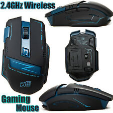 UK 2.4GHz Wireless Optical 8D 2400DPI Actme V5 Battletech 6 Buttons Gaming Mouse