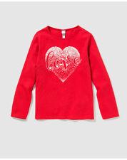 T-shirts et débardeurs rouges à 8 ans pour fille de 2 à 16 ans