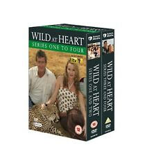 WILD AT HEART COMPLETE SERIES 1-4 DVD BOX SET Stephen Tomkinson UK Release New