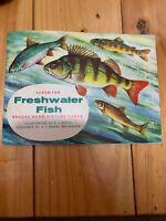 BROOKE BOND PICTURE CARD FRESHWATER FISH EMPTY ALBUM