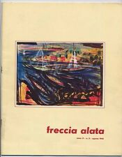 Alitalia house organ FRECCIA ALATA anno II n. 8 agosto 1962 - good condition