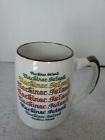 Mackinac Island Mug. New!
