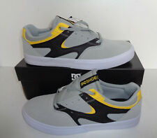 DC Shoes Mens Kalis Grey Skate Style Trainers Shoes Lace Up New RRP £59 Size 9