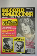 Record Collector Magazine. Issue no. 205. September, 1996. The Stones Sticky Fi