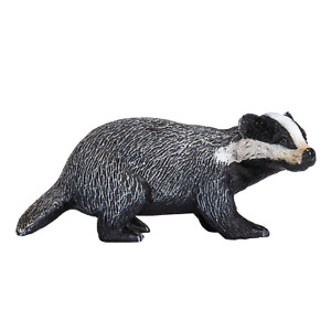 .Mojo BADGER wild countryside animals play model figure toys plastic forest
