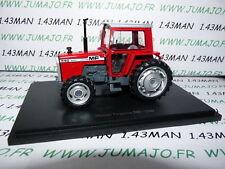 TR69W Tracteur 1/43 universal Hobbies n° 86 MASSEY FERGUSSON 590 1980