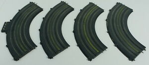 Lot Marx HO Scale Slot Car Curved Track with Power Connectors Pre-1965