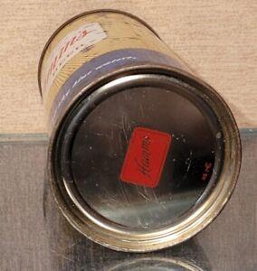 INDOOR 12 OUNCE STEEL 1950s HAMMS FLAT TOP BEER CAN ST PAUL MINNESOTA