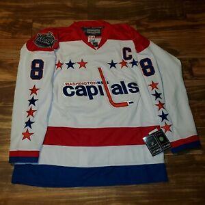 NEW Reebok Alex Ovechkin Washington Capitals Winter Classic Jersey Edge 2.0 56