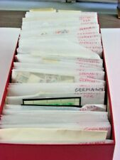Germany Ddr, accumulation of 1000s Stamps in glassines(red box), duplication