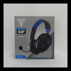 Turtle Beach Ear Force Recon 50P Stereo Gaming headset - Black NEW