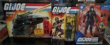 SNAKE EYES Hasbro GI Joe Classified Series Cobra Commander Retro HISS LOT