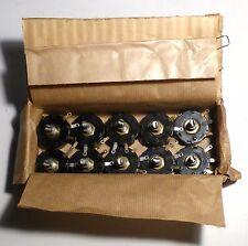 10 potentiomètres bobinés 210 ohms 3 watts NOS qualité militaire US