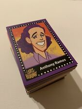 Lights of Broadway Showcards SOLD OUT OOP AUTUMN 2016 COMPLETE SET