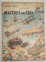 Collection Patrie N°92 Maîtres du Ciel 1918 aviation guerre