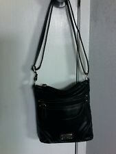 PURSE STONE & Co.  Crossbody Shoulder Bag  Organizer BLACK