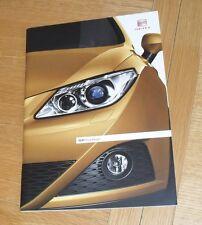 Seat Ibiza Brochure 2011 SE Chill FR Sport Cupra Bocanegra 1.2 1.4 1.6 2.0 TDI