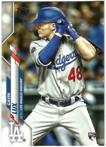 2020 Topps Factory Set Photo Variation #292 Gavin Lux-RC Rookie