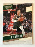 D.J. Wilson rookie card 2017-18 Panini Prestige #167 Milwaukee Bucks