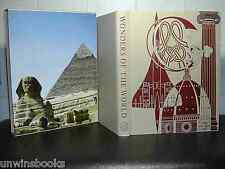 WONDERS of WORLD Ancient EGYPT Rome MEDIEVAL Architecture Monument FOLIO SOCIETY