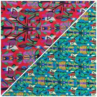 African Style 100% Viscose Dress Fabric Sold by Meter 150cm Wide