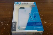 New Genuine Speck SPK-A2650 CandyShell Case for iPhone 5c - White/Blue trim