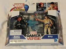 Marvel Vs. Capcom Infinite Black Widow vs. Ryu action figure set