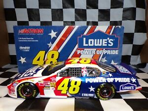Jimmie Johnson #48 Lowe's Power of Pride 2003 Monte Carlo 1:24 Action  NASCAR