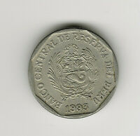 World Coins - Peru 50 Centimos 1993 Coin KM# 307