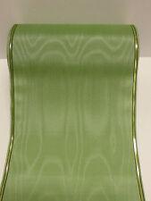1Rollen Moiré Kranzschleifenband  Kranzband mintgrün 17,5 cm
