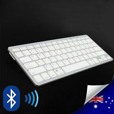 Rechargeable Slim 2.4GHz Wireless Bluetooth Keyboard 4 Windows XP 7 iOS Android