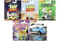 Hot Wheels Premium 2020 Retro Entertainment S Case Set of 5 Cars [In-Stock]