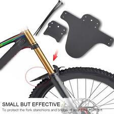 Black Plastic Mudguard with Stickers Giant Proguard Zip Bike Fender Mud Guard