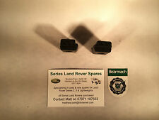 OEM Land Rover Series 2, 2a & 3 Bearmach Tailgate Buffers x 2 332146