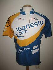 vintage Ibanesto Spain jersey shirt cycling maillot Banesto camiseta size XXL