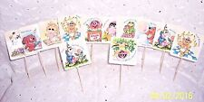 BABY MUPPETS-KERMIT-MISS PIGGY -DOUBLE SIDED :CUP CAKE PARTY APPETIZERS: 12 pcs