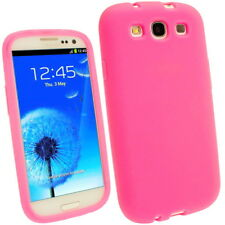 Orbyx Pink Silicone Skin Gel Case for Samsung i9300 Galaxy S3 / S3 Neo