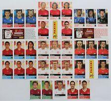 Panini EURO 2008 - Set 33 Update Sticker komplett - Extrasticker