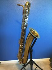Baritone Saxophone with Case - Evette Schaeffer - Plays